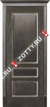 Межкомнатные двери Белорусские двери ВЕНА Чёрная патина
