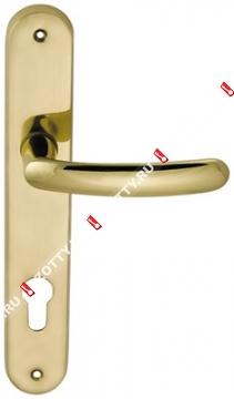 Ручка дверная на планке M.B.C. Elba (Латунь)