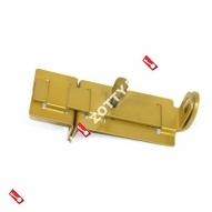Задвижка дверная проушины ЗД-04 (Золото)