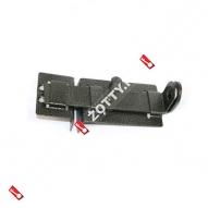Задвижка дверная проушины ЗД-04 (Серебро)