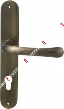 Ручка дверная на планке M.B.C. Beta