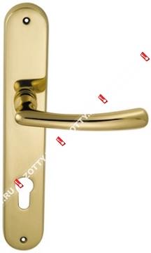 Ручка дверная на планке M.B.C. Ghibli (Латунь)
