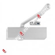 Дверной доводчик ECO TS-16 EN1-3/4-6 цвет RAL 9006 (Серебро)