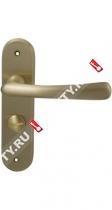 Ручка дверная на планке M.B.C. Ghibli WC for AMIG