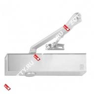 Дверной доводчик ECO TS-50 BC EN1-5/2-6 цвет RAL 9006 нержавеющая сталь (Серебро)
