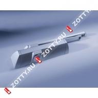 Дверной доводчик DORMA TS 90 Impulse EN 3/4, в комплекте со скользящим каналом (Серебро)