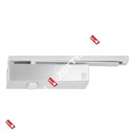 Дверной доводчик ECO TS-31 rail B BC EN1-3 цвет RAL 9006 нержавеющая сталь (Серебро)
