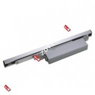 Дверной доводчик встроенный ECO ITS 400SIZE 2-4 Silver (Серебро)