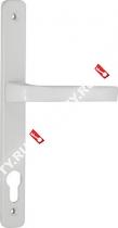 Ручка дверная на планке Fuaro 07 PVC-85/WHITE