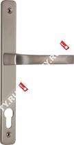 Ручка дверная на планке Fuaro 07 PVC-92/SC