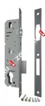 Корпус узкопрофильного замка с роликом FUARO 5124-25 CP (Хром)