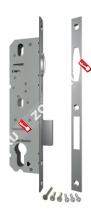 Корпус узкопрофильного замка с роликом FUARO 5116-35 CP (Хром)