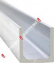 Направляющая Laredo N02 (0.9м) (Нижняя направляющая) (Матовый никель/хром)