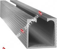 Направляющая Laredo N01 (1м) (Базовая модель) (Матовый никель/хром)