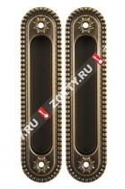 Ручка для раздвижных дверей ARMADILLO SH010/CL BB-17
