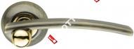 Ручка дверная раздельная Armadillo Mercury LD22-1AB/GP-7 (Бронза/золото)
