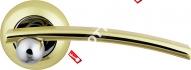 Ручка дверная раздельная Armadillo Mercury LD22-1GP/CP-2