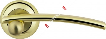 Ручка дверная раздельная Armadillo Mercury LD22-1GP/SG-5