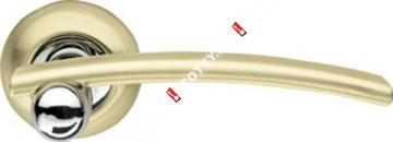 Ручка дверная раздельная Armadillo Mercury LD22-1SG/CP-1