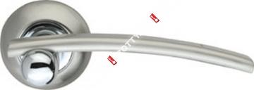 Ручка дверная раздельная Armadillo Mercury LD22-1SN/CP-3