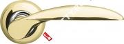 Ручка дверная раздельная Armadillo Diona LD20-1GP/CP-2
