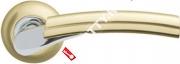 Ручка дверная раздельная Armadillo Vega LD21-1SG/CP-1