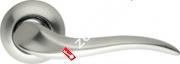 Ручка дверная раздельная Armadillo Andromeda LD143-1SN/CP-3 (Матовый никель/хром)