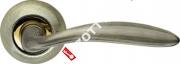 Ручка дверная раздельная Armadillo Virgo LD57-1AB/GP-7 (Бронза/золото)