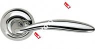 Ручка дверная раздельная Armadillo Virgo LD57-1CP-8