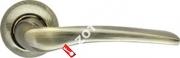 Ручка дверная раздельная Armadillo Capella LD40-1AB/GP-7 (Бронза/золото)