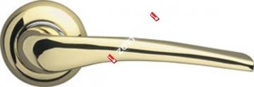 Ручка дверная раздельная Armadillo Capella LD40-1GP/CP-2