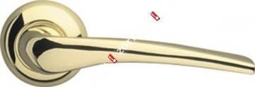 Ручка дверная раздельная Armadillo Capella LD40-1GP/SG-5