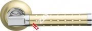 Ручка дверная раздельная Armadillo Eridan LD37-1SG/CP-1