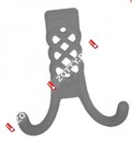 Крючок-вешалка МЕТАЛЛИСТ №30 (Хром)