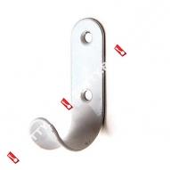 Крючок-вешалка КВ-01 (Белый)