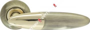 Ручка дверная раздельная Armadillo Sfera LD55-1AB/GP-7