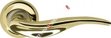 Ручка дверная раздельная Armadillo Lora LD39-1GP/SG-5