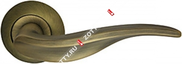 Ручка дверная раздельная Armadillo Lora LD39-1WAB-11