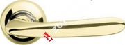 Ручка дверная раздельная Armadillo Pava LD42-1GP/CP-2
