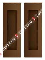 Ручка для раздвижных дверей SH010 URB BB-17 (Коричневая бронза)