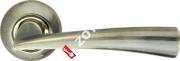 Ручка дверная раздельная Armadillo Columba LD80-1AB/GP-7 (Бронза/золото)