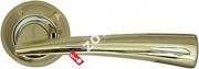 Ручка дверная раздельная Armadillo Columba LD80-1GP/CP-2