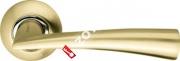Ручка дверная раздельная Armadillo Columba LD80-1SG/CP-1