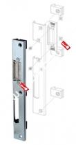 Регулируемая ответная планка для профильных дверей FUARO SP-002-R (230x30 мм) (KBE)