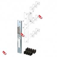 Регулируемая ответная планка для профильных дверей FUARO SP-004-R (230x30 мм)