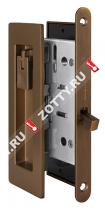Набор для раздвижных дверей SH011 URB BB-17 (Коричневая бронза)