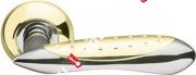 Ручка дверная раздельная Armadillo Corvus LD35-1GP/CP-2