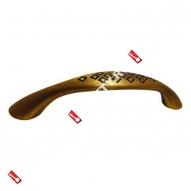 Ручка-скоба мебельная LOID СТАРЫЙ ОБРАЗЕЦ 96мм CF (Кофе)