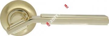 Ручка дверная раздельная Armadillo Cosmo LD147-1SG/GP-4 (Золото/матовое золото)