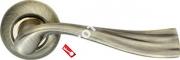 Ручка дверная раздельная Armadillo Laguna LD85-1AB/GP-7 (Бронза/золото)